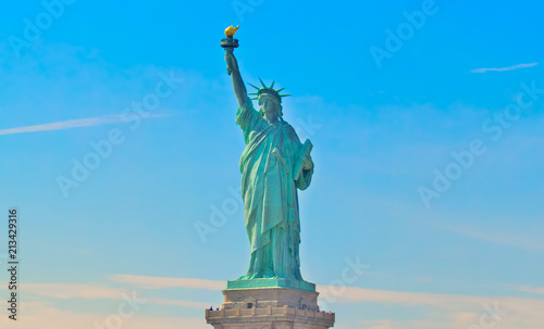 Foto op Plexiglas Historisch mon. Statue Of Liberty National Monument New York City