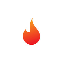 Fire Logo Or Icon Design Template