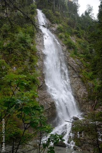 Poster Watervallen Kitzlochklamm waterfall, Taxenbach