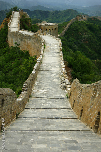 Keuken foto achterwand Chinese Muur Great Wall of china, jinshanling