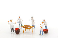 Miniature People: Group Of Che...
