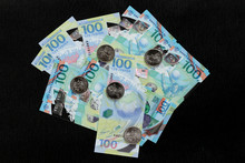 Banknote And Coins Of The Worl...