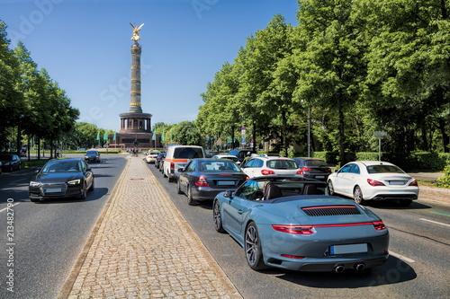 Obraz premium Berlin, kolumna zwycięstwa
