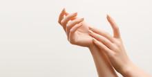 Beautiful Woman Hands. Female ...