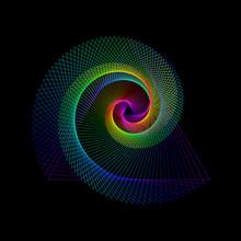 Vector Illustration - Rainbow ...