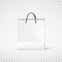 White Shopping Paper Bag. Bag ...