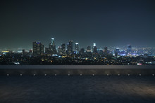 Night Panoramic City View