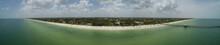 Epic Drone Aerial Image Naples Beach Florida