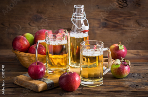 Canvas Print Hard apple cider