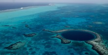 Aerial Photography Blue Hole, ...