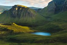 Peacefull Lake At Quiraing Isle Of Sky