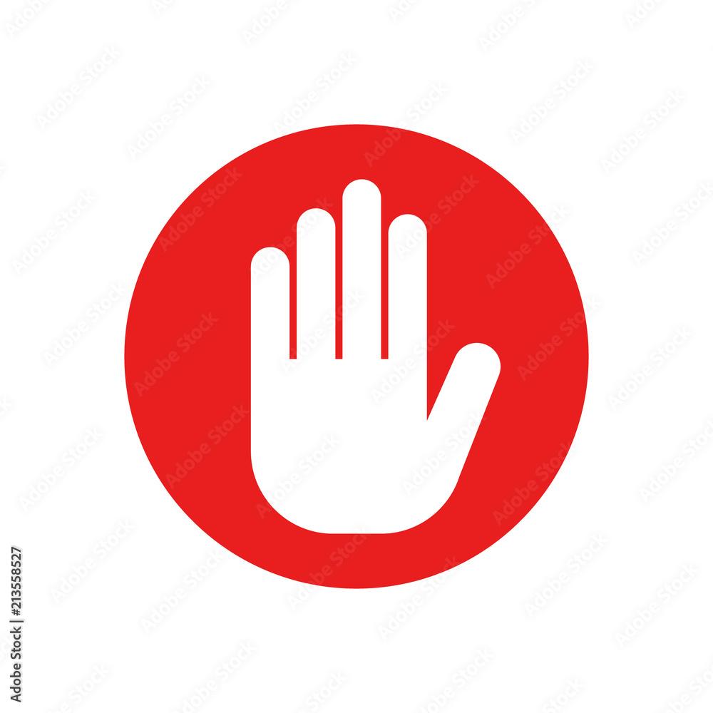 Fototapety, obrazy: Stop sign. Vector.