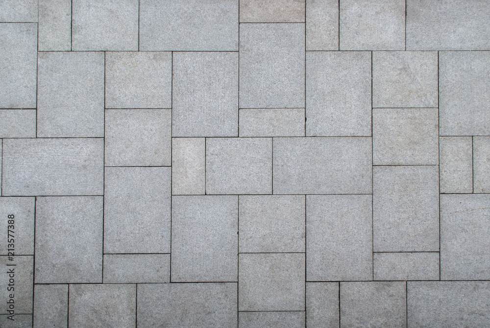 Fototapeta floor pattern from stone slabs