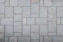 Floor Pattern From Stone Slabs