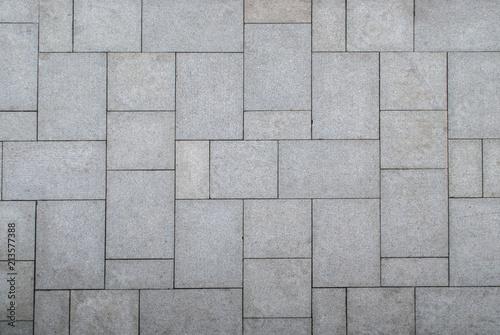 Fotomural floor pattern from stone slabs
