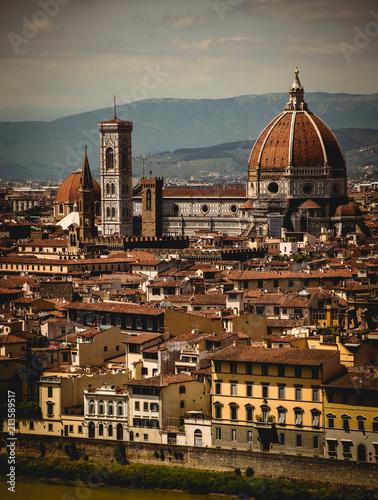 Deurstickers Florence Florenz Italien