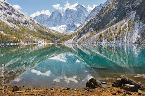 Keuken foto achterwand Asia land Altai mountains, Russia, Siberia.