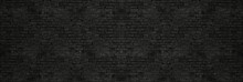 Vintage Black Wash Brick Wall ...