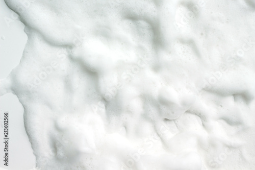 Valokuva  Bubbles foam white washing shower