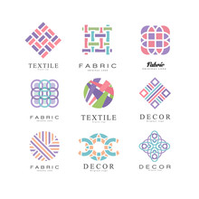 Flat Vector Set Of Abstract Lo...