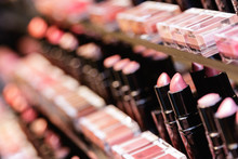 Testers Of Different Lipsticks