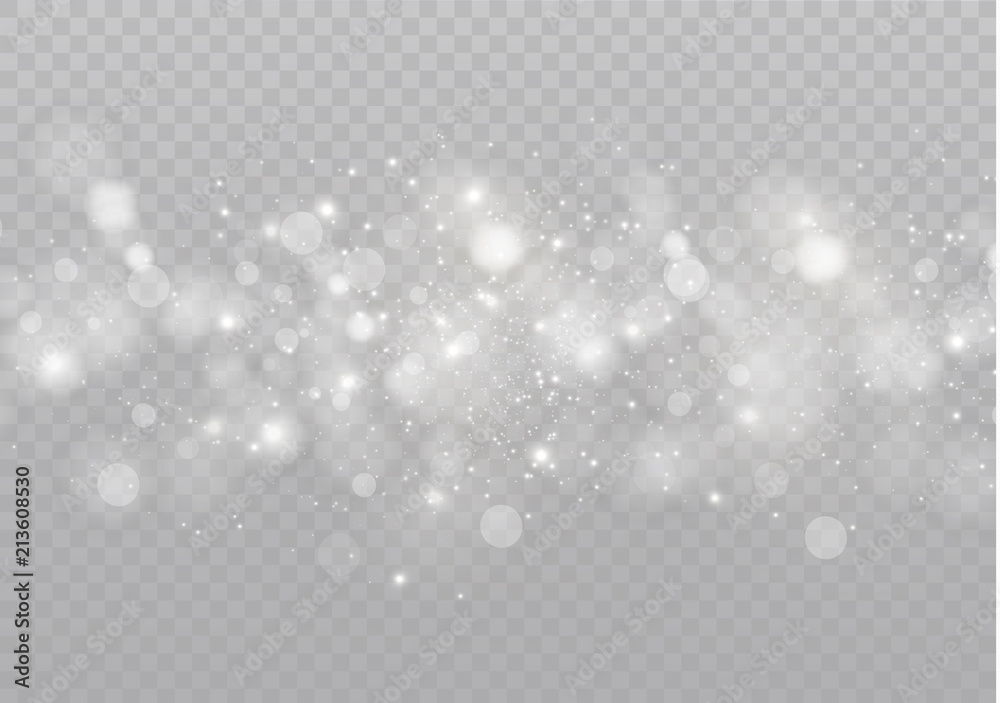 Fototapety, obrazy: White glowing light burst explosion on transparent background. Vector illustration light effect decoration with ray. Bright star. Translucent shine sun, bright flare. Center vibrant flash
