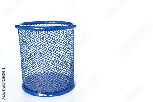 Fotografie, Obraz  pen pencil holder empty on white background