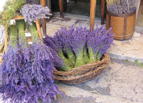 Fotobehang Lavendel vente de lavande