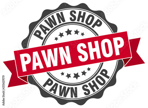 Fototapeta  pawn shop stamp. sign. seal