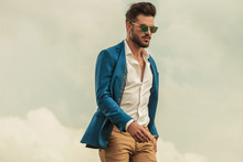 Smart Casual Man With Sunglass...