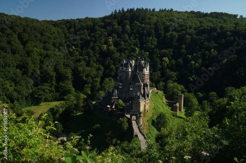 In de dag Zwart Burg Eltz, Germany