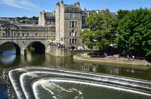 La Rivière Avon à Bath En Angleterre