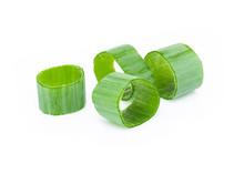 Closeup Green Onion Vegetable ...