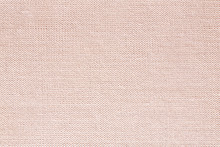 Beige Background Texture / Linen Surface Pattern Close Up Bright Color