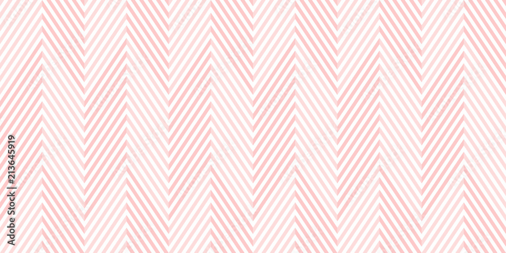 Fototapeta Background pattern seamless chevron pink and white geometric abstract vector design.