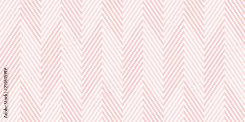 fototapeta na ścianę Background pattern seamless chevron pink and white geometric abstract vector design.