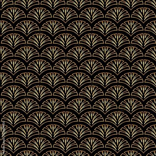 art-deco-zlotego-palmette-wektoru-bezszwowy-wzor