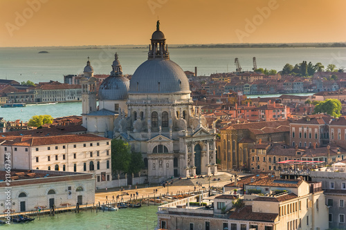 Plakat Basilicia Santa Maria della Salute w Wenecji