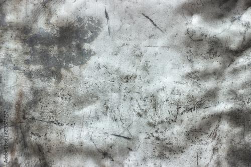 Obraz na plátně Steel sheet sanded with emery, worn metal background