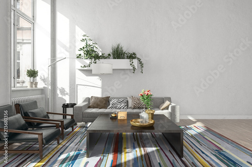 Brilliant Modern Room With Table Beside Sofa And Chairs Buy This Squirreltailoven Fun Painted Chair Ideas Images Squirreltailovenorg