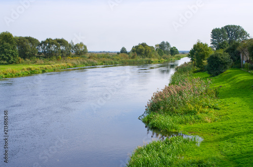 Foto op Canvas Rivier Narew river - Poland