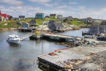 View Of Peggy's Cove, Nova Scotia, Canada