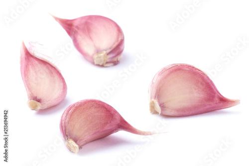 Four cloves of garlic