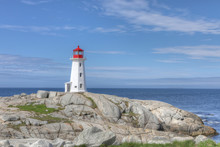Peggy's Cove Lighthouse In Can...