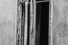 The Old Window Of An Old Aband...