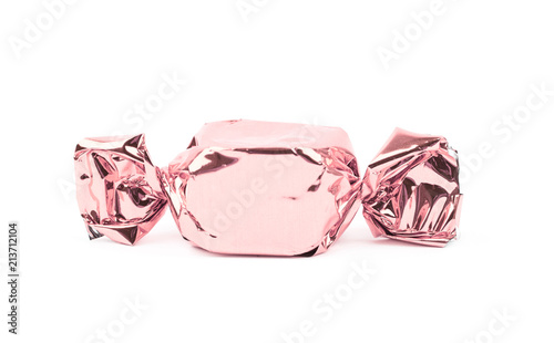 Fotografiet Wrapped candy isolated