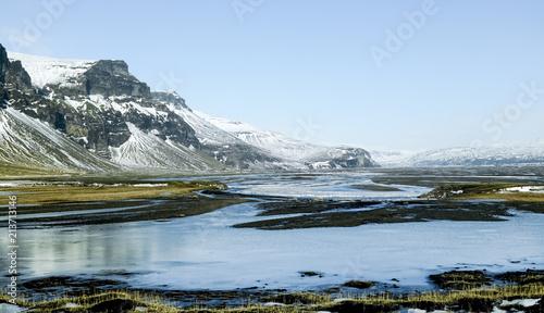 Deurstickers Poolcirkel Islande du Sud