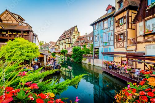 Deurstickers Amsterdam Colmar - France