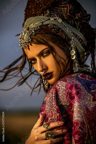 Poster Gypsy delectable gypsy girl