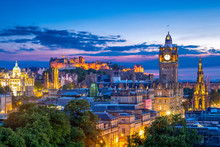 Aerial View From Calton Hill, ...